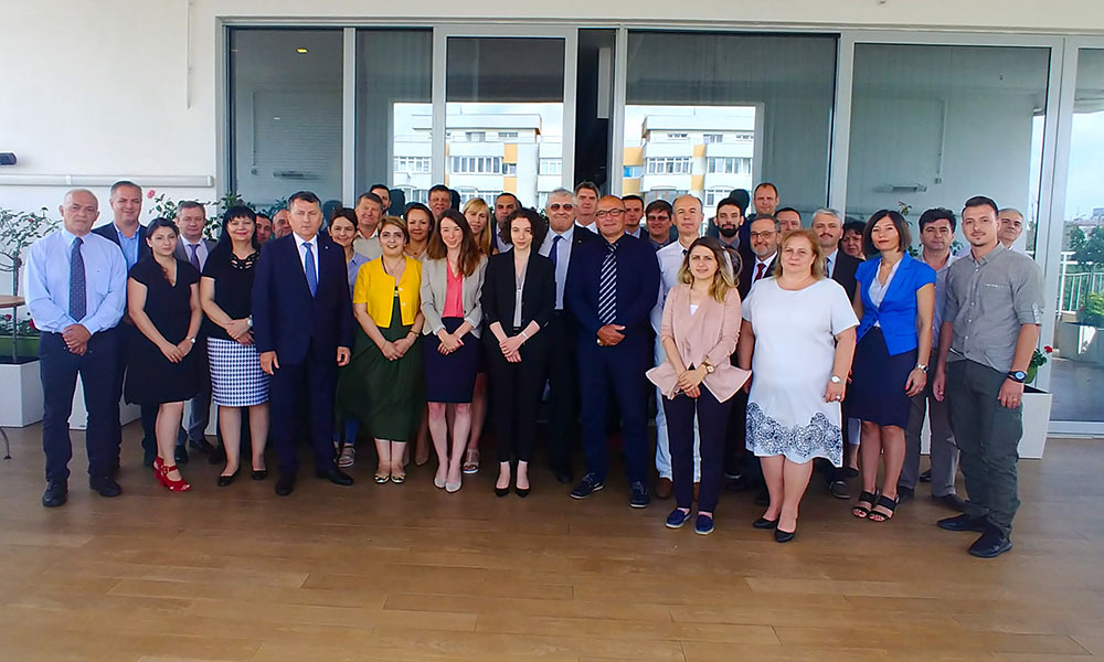Regionalna radionica za koordinisanje i implementaciju Integrisanih planova podrške nuklearnoj sigurnosti u Evropi, Bukurešt, 8-12. juli 2019.