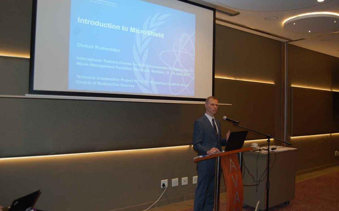 Представници Србије на курсу о системској анализи сигурности објеката за управљање радиоактивним отпадом у Намибији