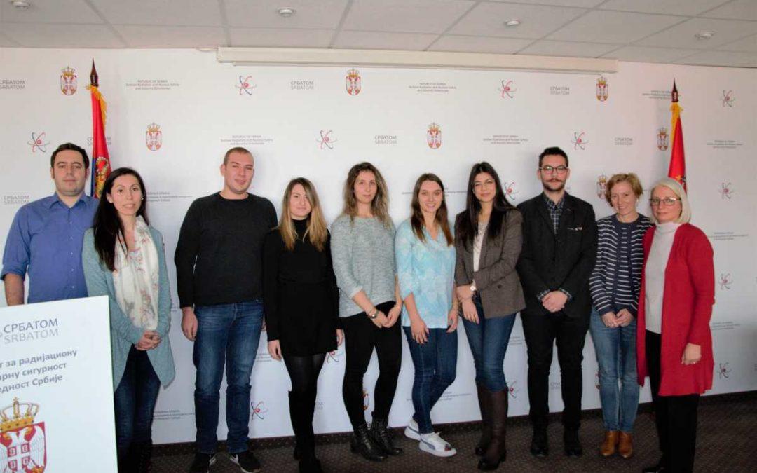 Студенти Мастер студија Електротехничког факултета у посети Директорату