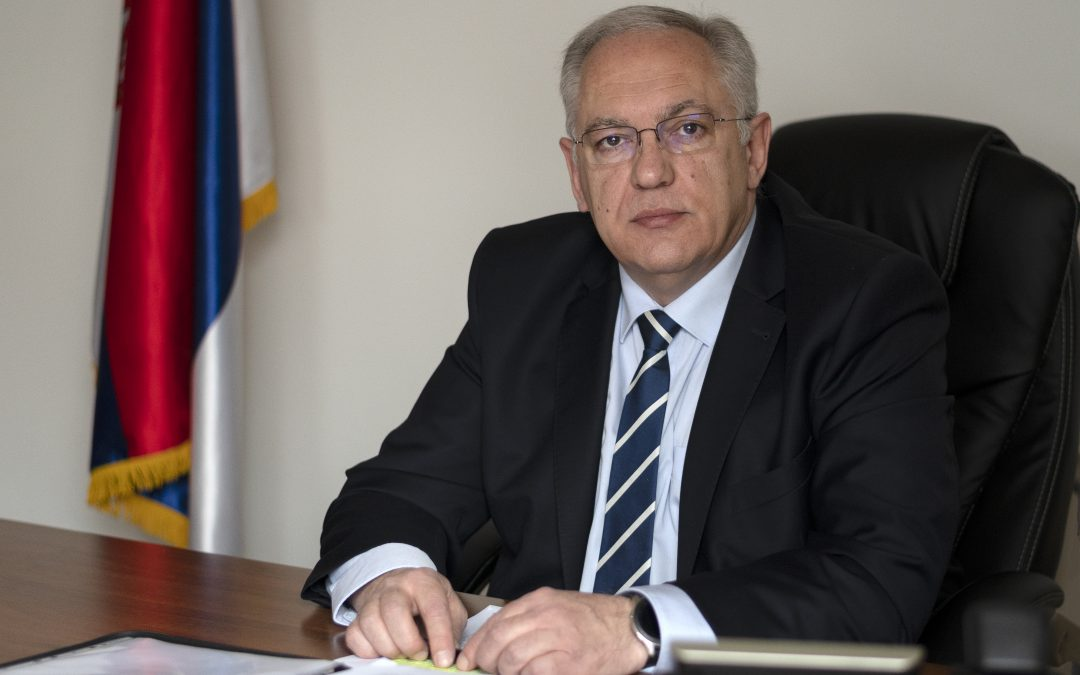 Velinov: Transport security recognized as an important aspect of the comprehensive control system
