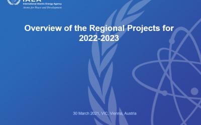 Међународна агенције за атомску енергију – Виртуелни састанак националних официра за везу за регион Европе – Преглед регионалних пројеката за период 2022 -2023 године