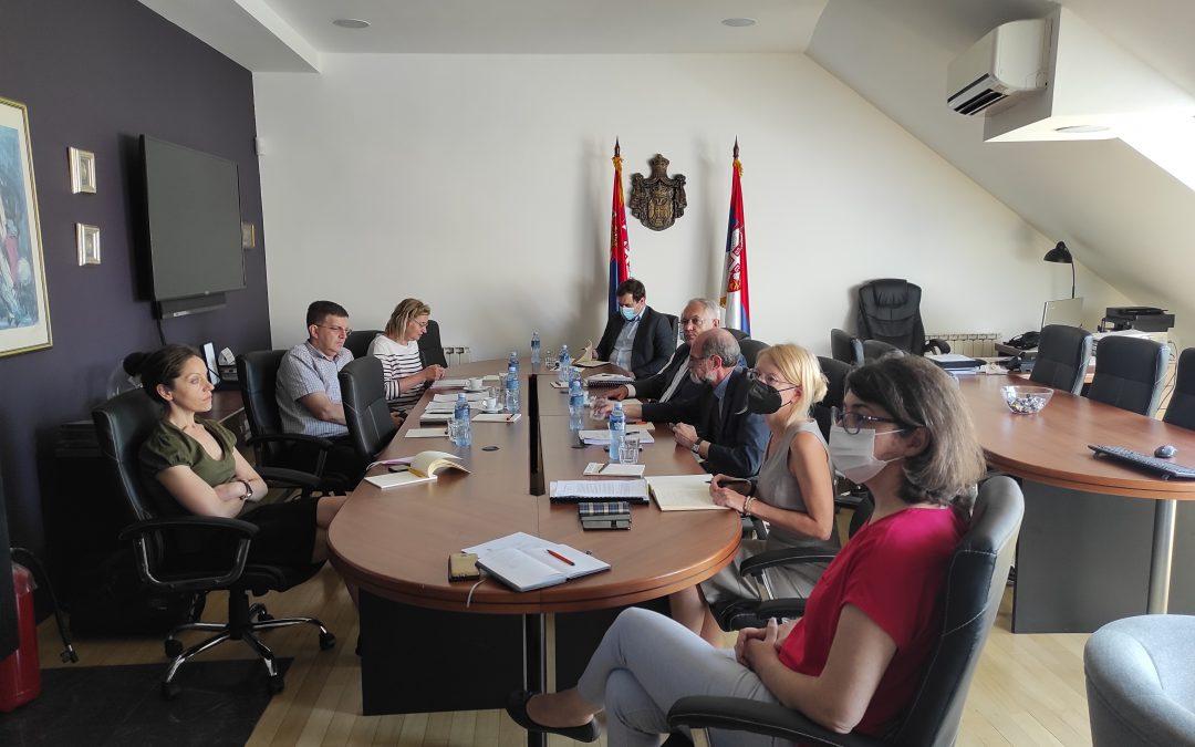 Припремни састанак са представницима ЕК у вези са Преговарачком позицијом за поглавље 15