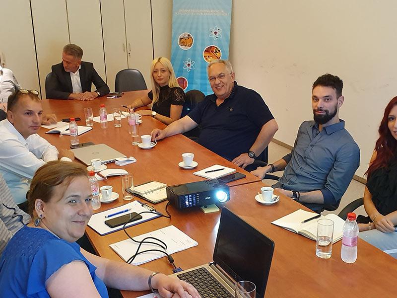 Poseta Državnoj regulatornoj agenciji za radijacionu sigurnost Bosne i Hercegovine