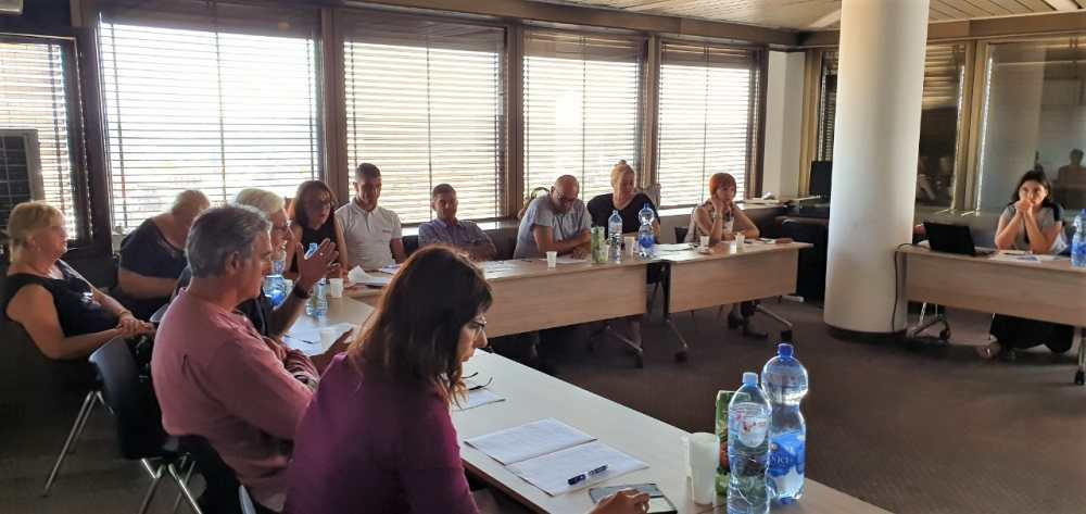 Consultation meeting with the representatives of the authorized legal entities