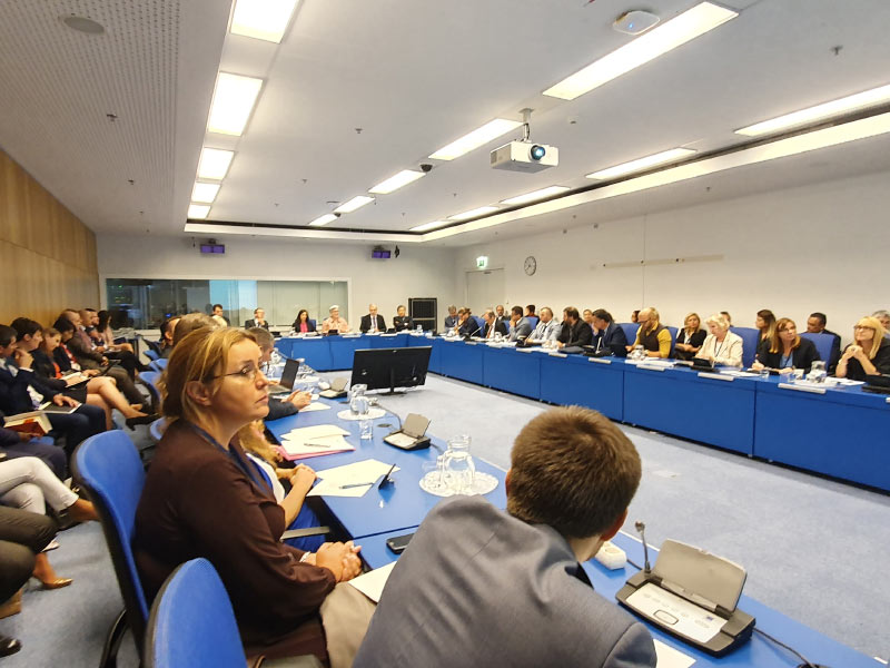Predstavnici Direktorata na Sastanku nacionalnih koordinatora za vezu sa MAAE regiona Evrope na 63. zasedanju Generalne konferencije