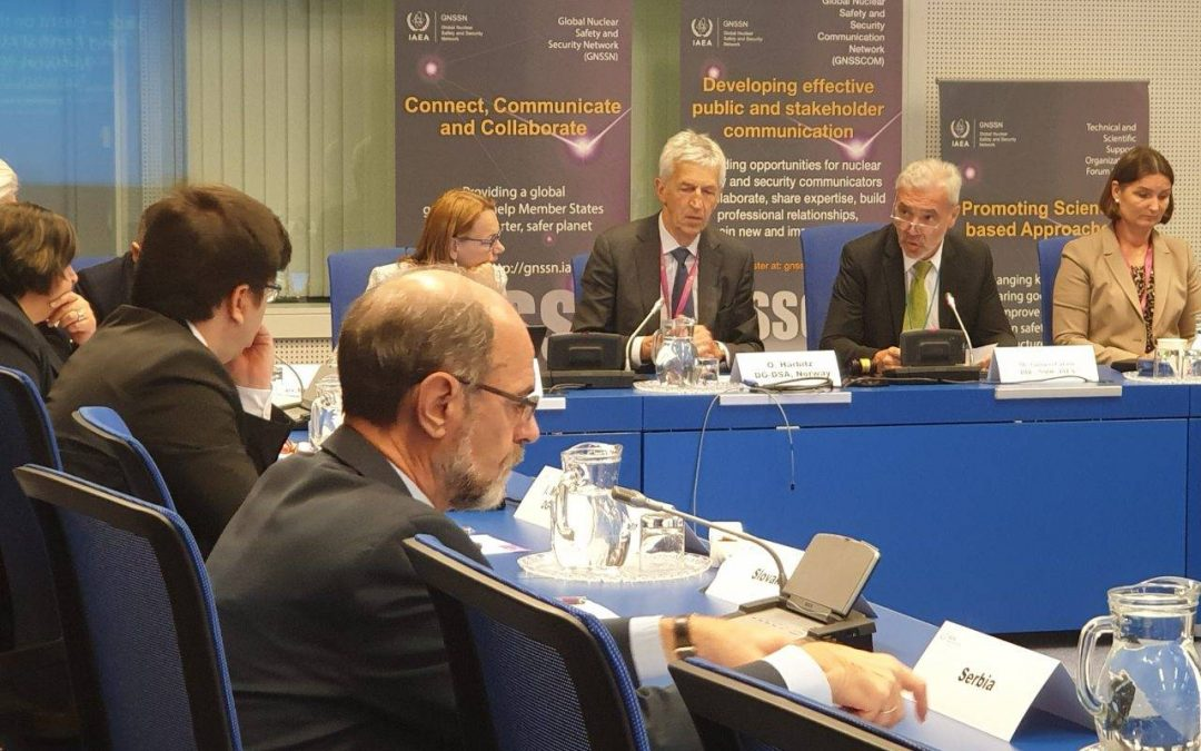 Representatives of Directorate at panel by European and Central Asian Safety (EuCAS) Network