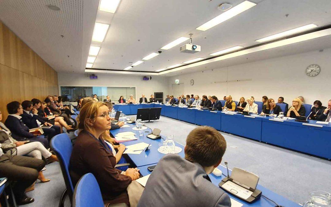 Представници Директората на Састанку националних координатора за везу са МААЕ региона Европе на 63. заседању Генералне конференције