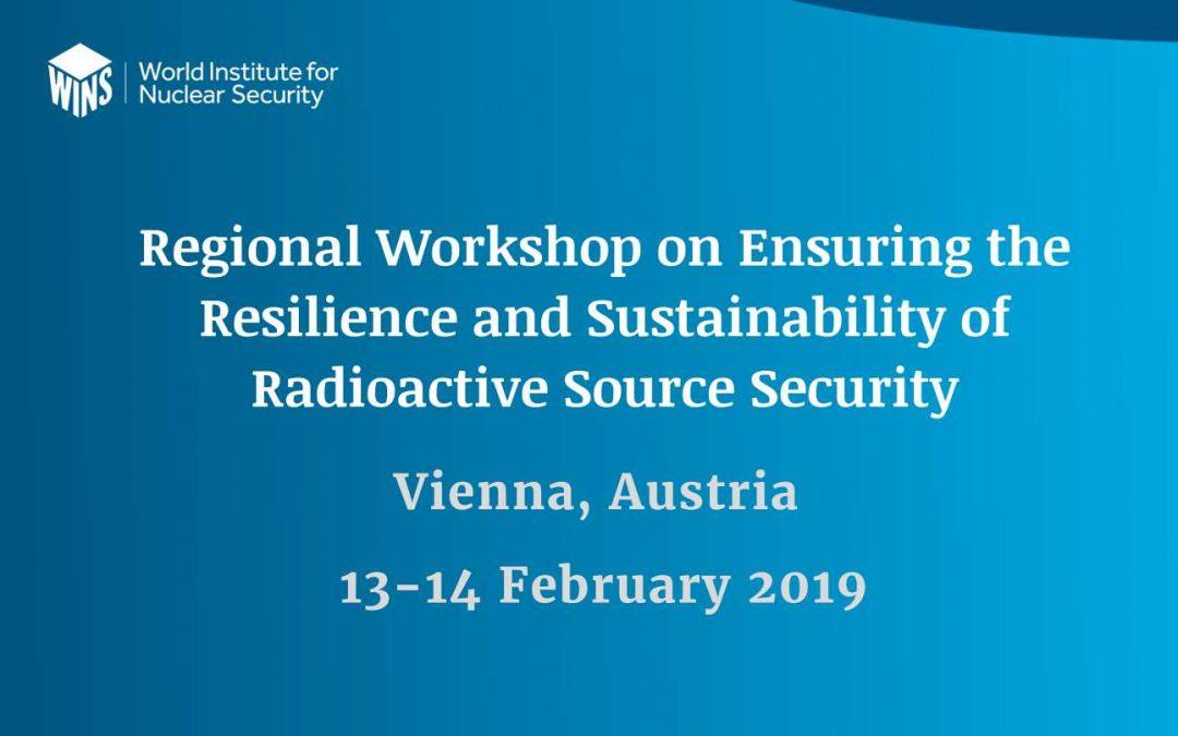Учешће наших представника на радионици Осигуравање отпорности и одрживости система безбедности радиоактивних извора