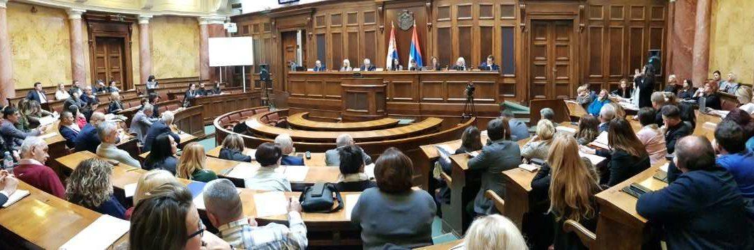 Одржано јавно слушање Предлога закона о радијационој и нуклеарној сигурности