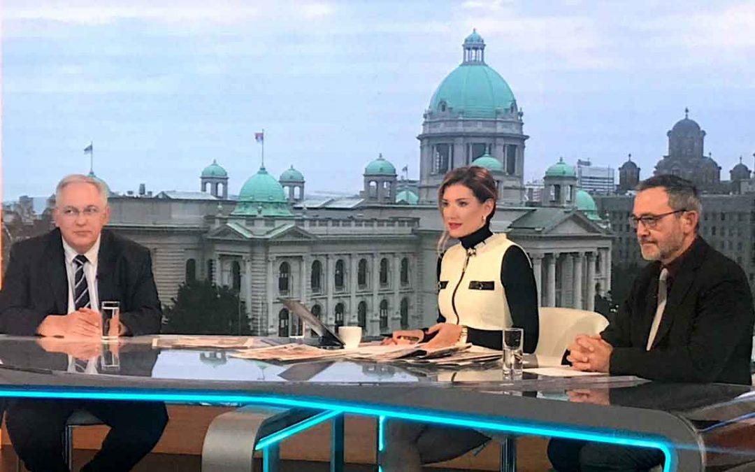 СРБАТОМ НА ТВ ПРВА, СРЕДА 20.11.2019.