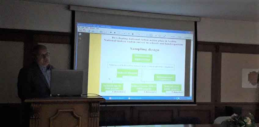 Наши представници на скупу Размена искустава и добре праксе при имплементацији радон акционог плана у Бугарској